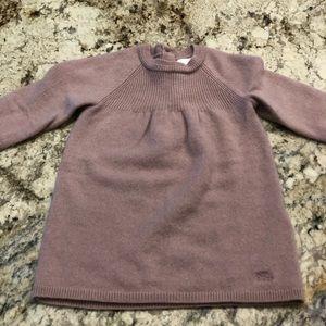 Burberry cashmere baby dress